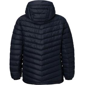 Peak Performance M's Frost Down Hooded Jacket Salute Blue